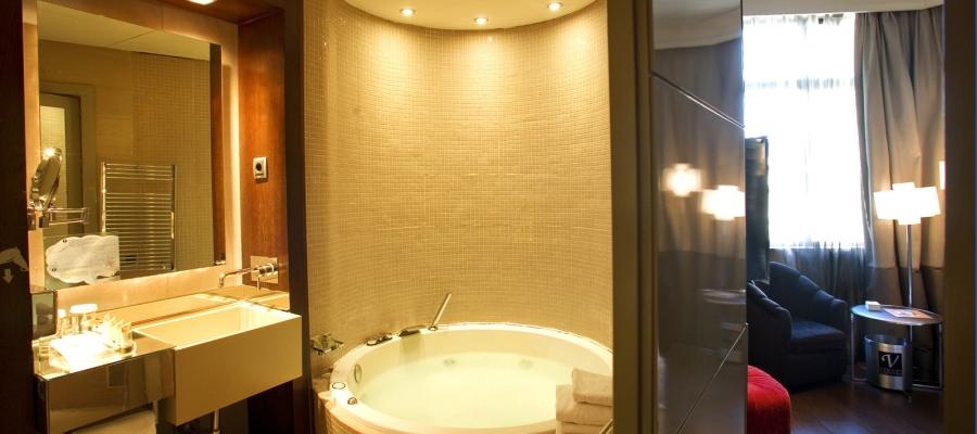 Habitaciones Hotel Madrid Capitol - Vincci Hoteles - Doble con Jacuzzi