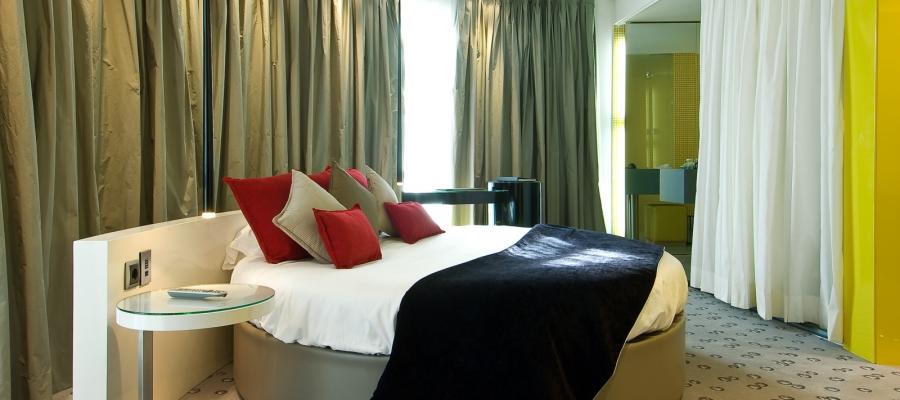 Habitaciones Hotel Madrid Capitol - Vincci Hoteles - Skylight