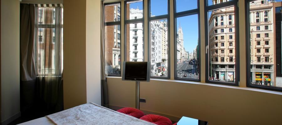 Habitaciones Hotel Madrid Capitol - Vincci Hoteles - Superior