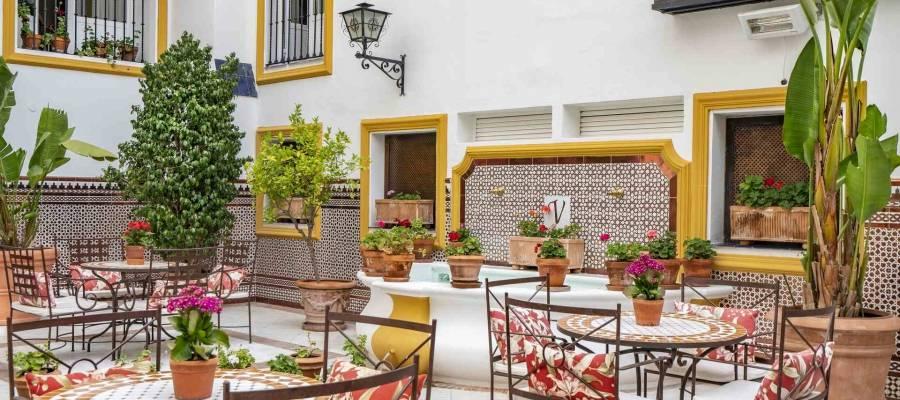 Dienstleistungen Hotel Vincci Sevilla La Rabida - Patio Andaluz