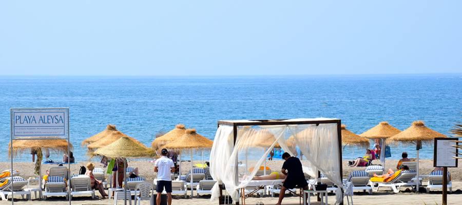 Services Hotel Vincci Aleysa Boutique&Spa - Hängematten am Strand