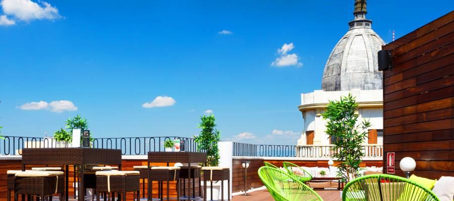 Servicios Hotel Madrid Vía 66 - Vincci Hoteles - La Terraza