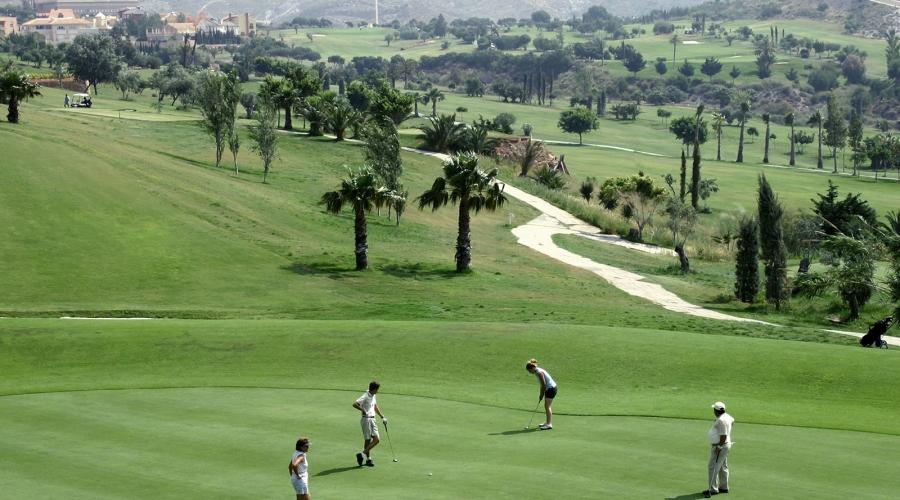 Campo de Golf Hotel Vincci Almería Wellness - Escuela de Golf