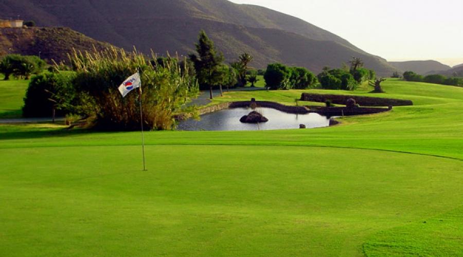 Campo de Golf Hotel Vincci Almería Wellness - La Envía Golf