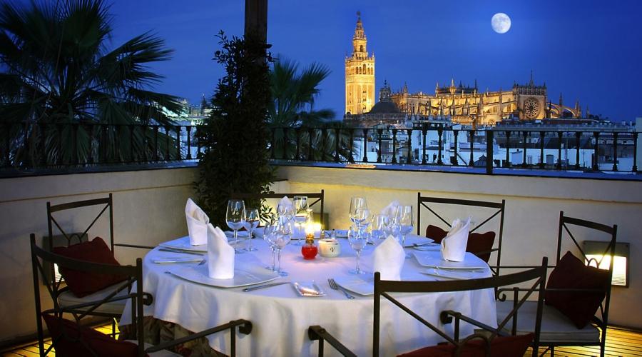 Restaurant El Mirador de Sevilla Hotel La Rábida - Vincci Hotels