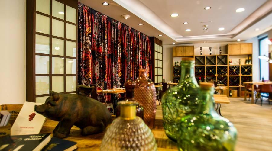 Restaurante Le Diner Hotel M 225 Laga Posada Del Patio