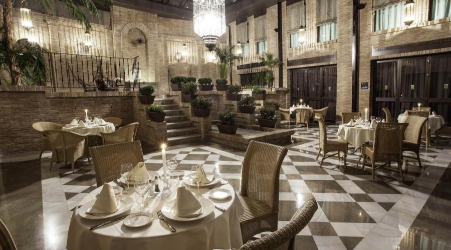 Restaurante Gran Patio la Acequia - Hotel Granada Albayzín - Vincci Hoteles