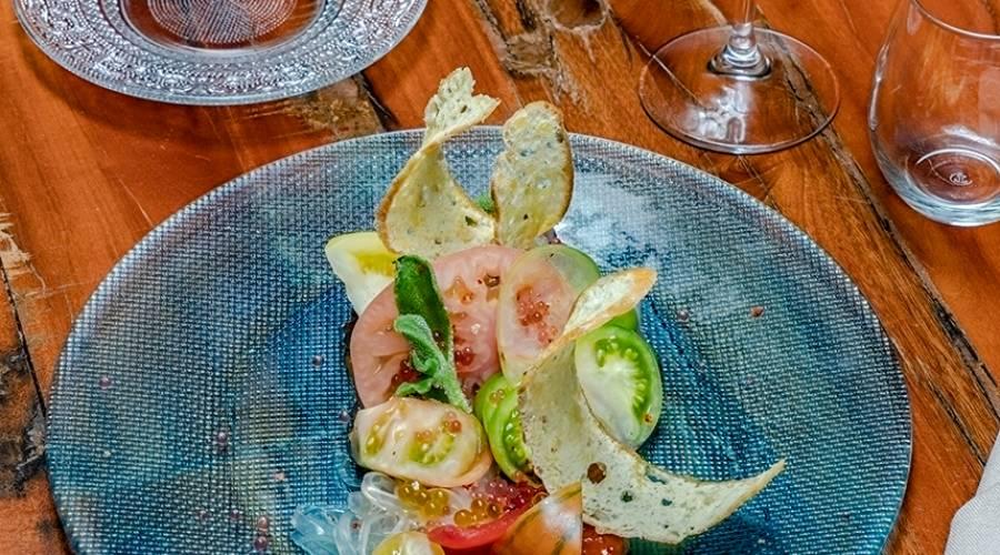 Restaurant Entremuros - Services Hotel Vincci Málaga Posada del patio