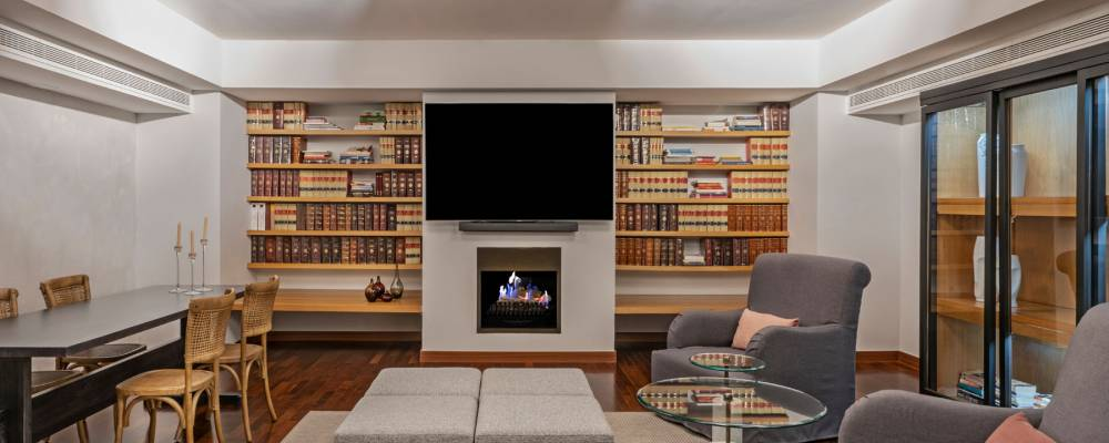 Installations and services Hotel Soma Madrid - Vincci Hotels - Library