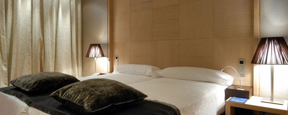 Chambres Hôtel Frontaura Valladolid - Vincci Hotel - Chambre Standard