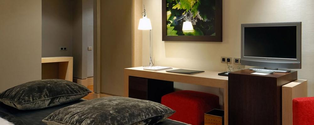 Chambres Hôtel Frontaura Valladolid - Vincci Hotel - Chambre Superior