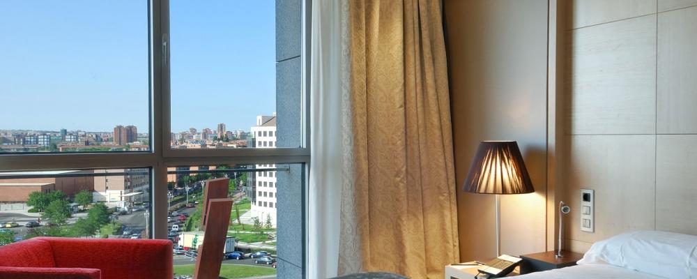 Rooms Hotel Valladolid Frontaura - Vincci Hotels - Superior Room