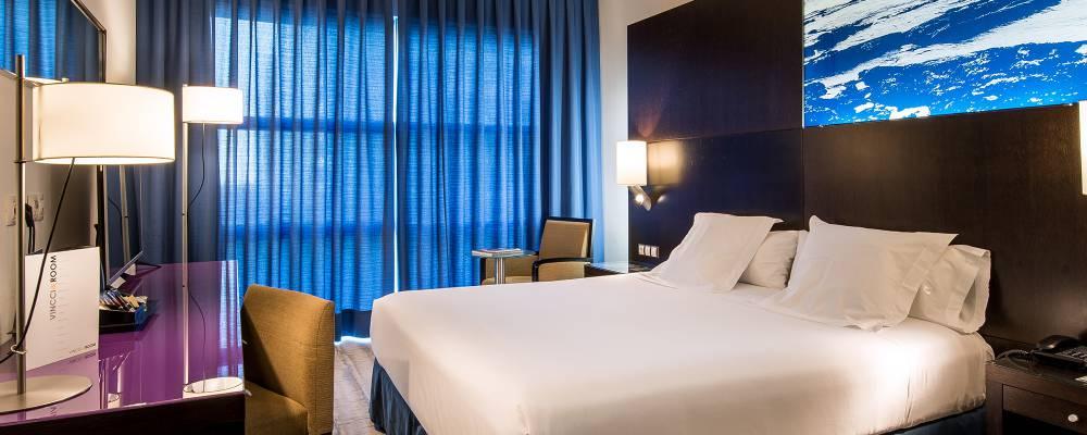 Rooms Hotel Barcelona Marítimo - Vincci Hotels - Double Room
