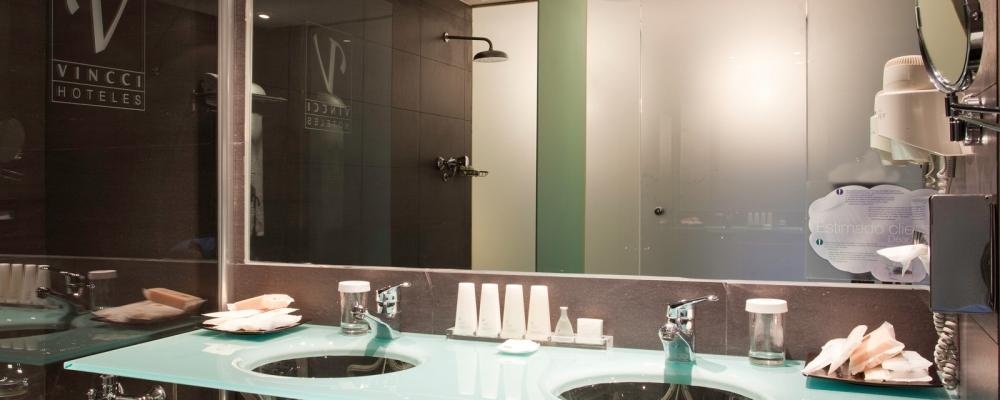 Chambres Hôtel Barcelone Maritime - Vincci Hoteles - Chambre Doble