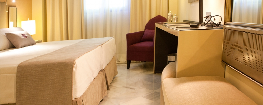 Double rooms adapted for the handicapped - Vincci Albayzín 4*