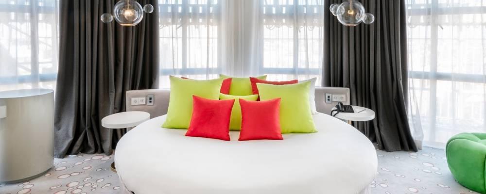 Übernachtung im Hotel Capitol Madrid - Vincci Sky Light-Zimmer