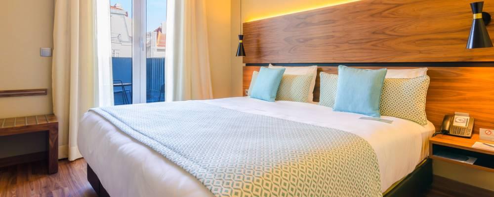 Premium-Doppelzimmer mit Terrasse - Vincci Liberdade