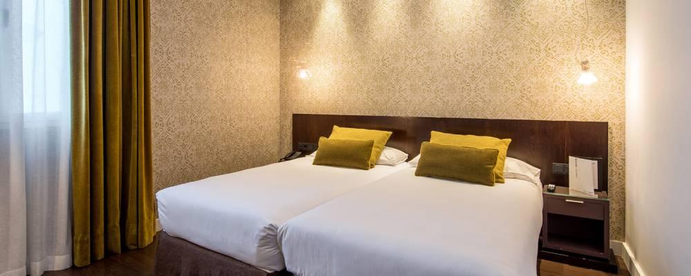 Habitaciones Hotel Vincci Madrid Centrum - Habitación con Terraza-Solarium