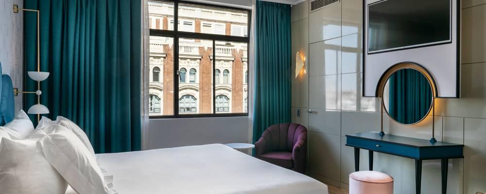 Habitaciones Hotel Madrid Capitol - Vincci Hoteles - Doble con Vistas GV