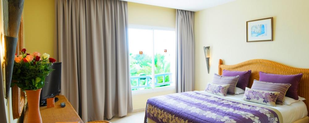 Doppelzimmer. Übernachtung im Hotel Vincci Djerba in Tunesien