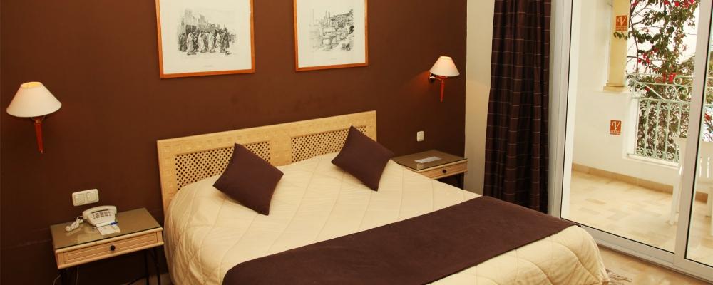 Doppelzimmer. Übernachtung im Hotel Vincci Flora Park in Tunesien