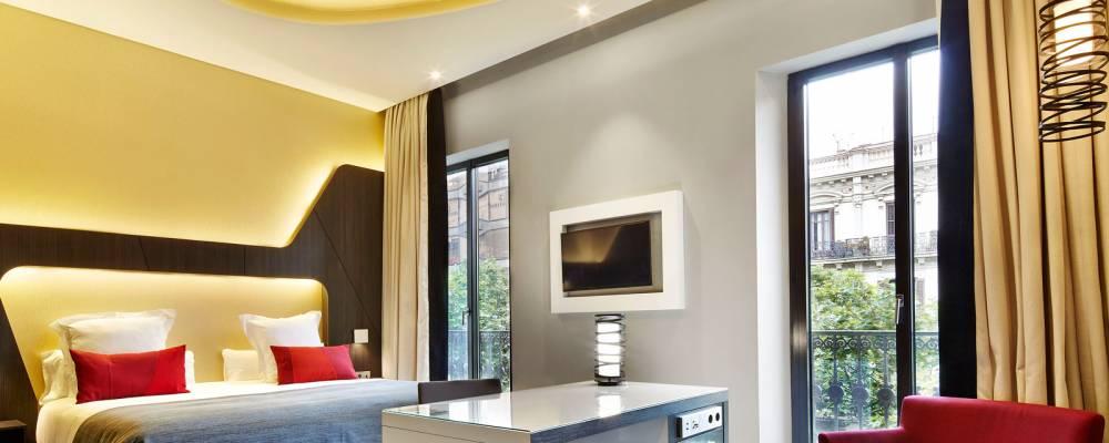 Habitación superior. Hotel Barcelona Gala - Vincci Hoteles