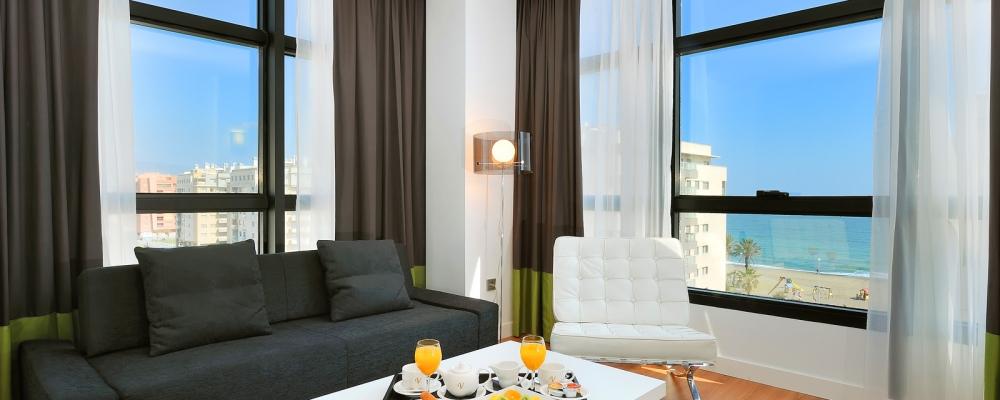 Junior Suite - Camere Hotel Malaga - Vincci Hoteles
