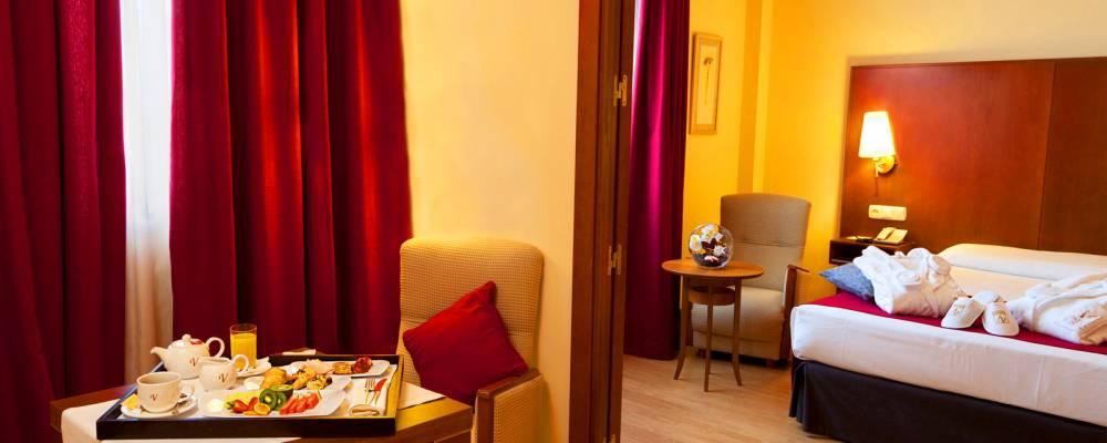Chambres Hôtel Ciudad de Salamanca - Vincci Hoteles - Suite Junior