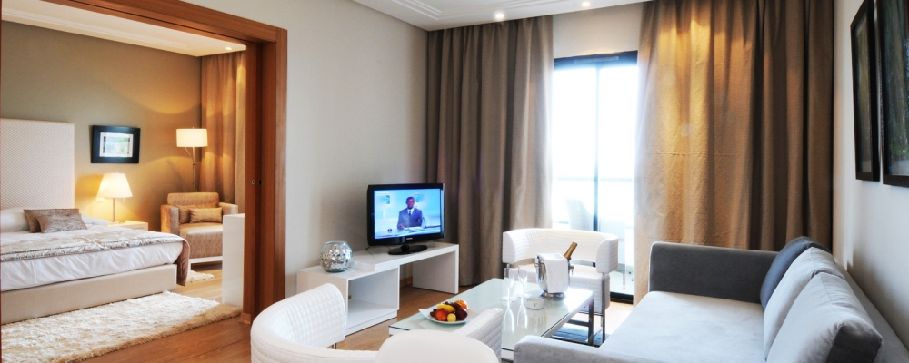 Chambres Hôtel Vincci Nozha Beach Hammamet - Famille Chambre Vue Mer
