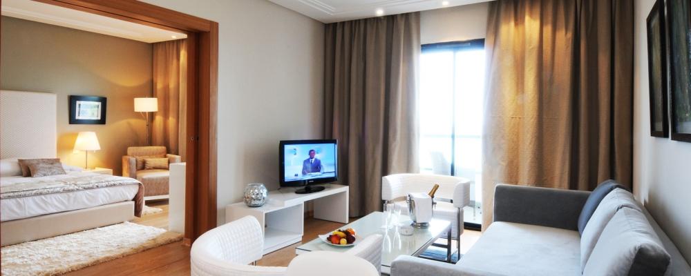 Familien Suite Meerblick.  Hotel Hamammet Nozha Beach - Vincci Hoteles