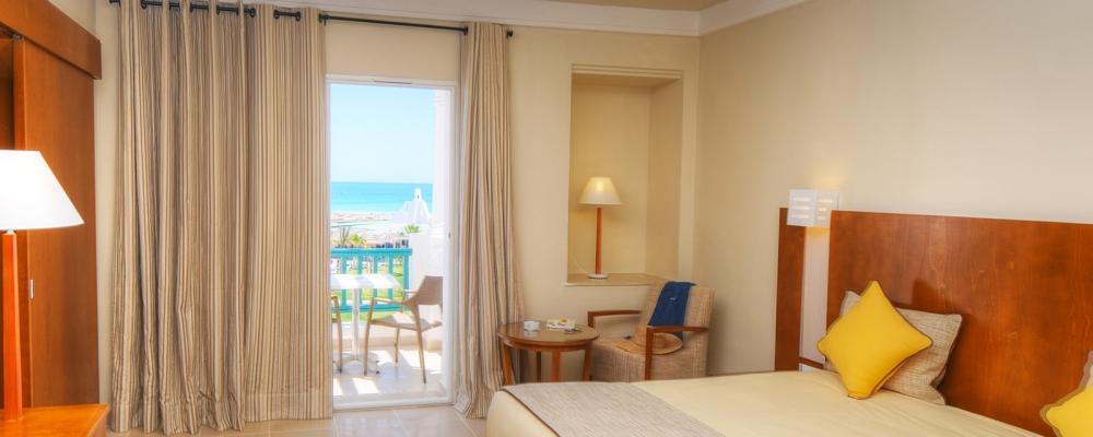 Chambres Hôtel Vincci Helios Beach Djerba - Chambre Simple Vue sur Mer