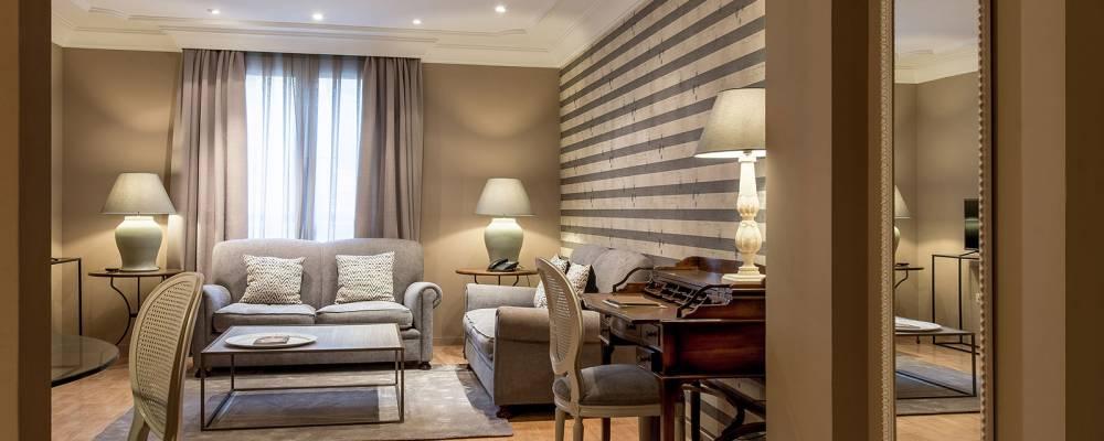 Junior Suiten. Übernachtung im Hotel Vincci Lys in Valencia