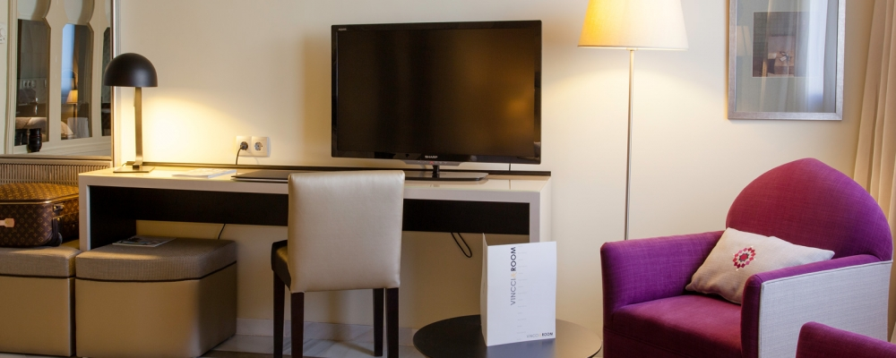 Habitaciones Hotel Vincci Granada Albayzín - Habitación Junior Suite