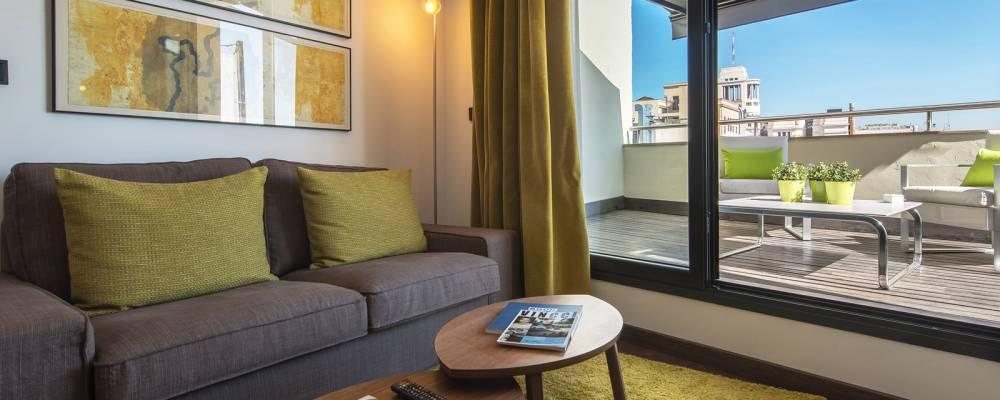 Suite Junior - Chambres Centrum Hôtel Madrid - Vincci Hoteles
