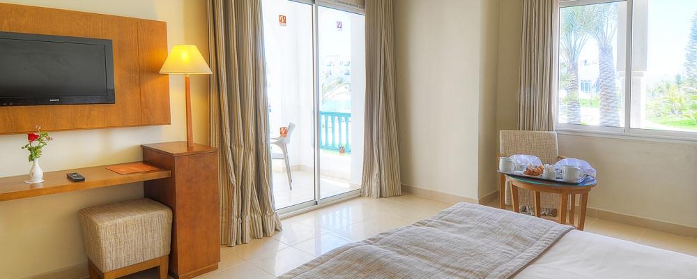 Chambres Hôtel Vincci Helios Beach Djerba - Junior Suite Vue Mer