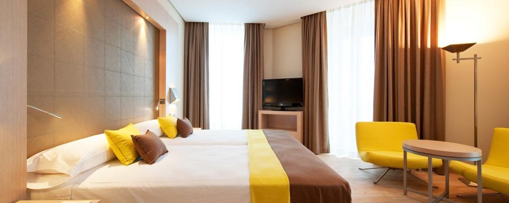Übernachtung im Hotel Vincci Posada del Patio - Superior Doppelzimmer