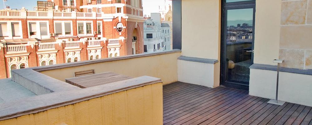 Habitaciones Hotel Madrid Capitol - Vincci Hoteles - Junior Suite