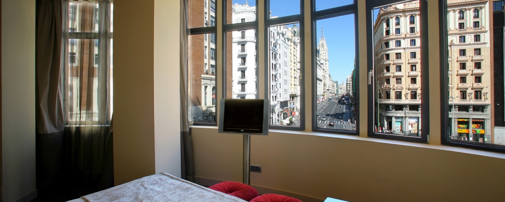 Rooms Hotel Vinnci Madrid Capitol - Superior Room