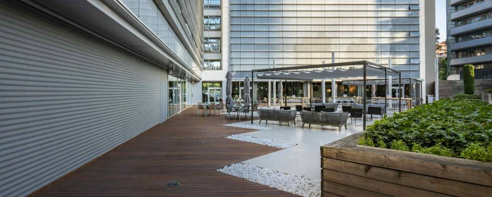 Hôtel Barcelona Marítimo Services 1 - Vincci Hotels - Terrasse Jardí de Mar
