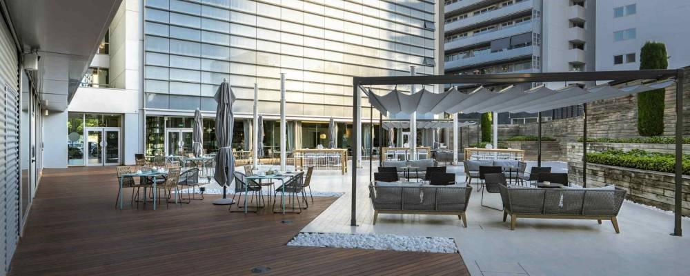 Hotel Barcelona Maritime Services 2 - Vincci Hoteles - Jardí de Mar Terrasse
