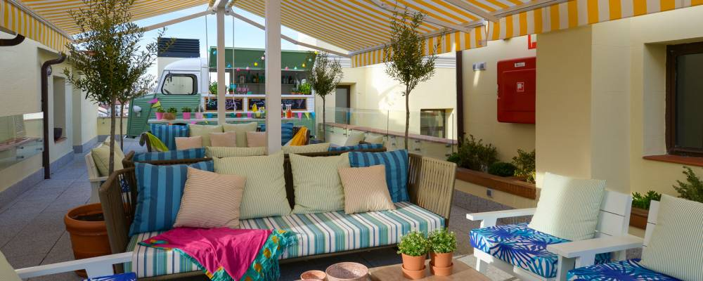 Terraza - Vincci The Mint 4* - Madrid