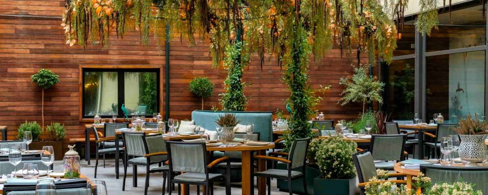 Terrace NoMad Food & Bar - Vincci Soho Madrid