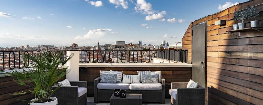 Terraza Roof 66 - Hotel Vincci Gran Vía
