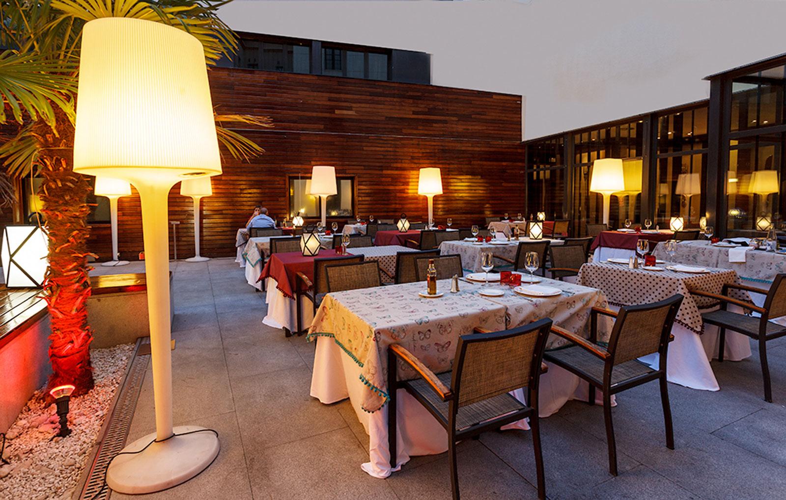 Services Hotel Madrid Soho - Vincci Hotels - La Terraza Prado 18