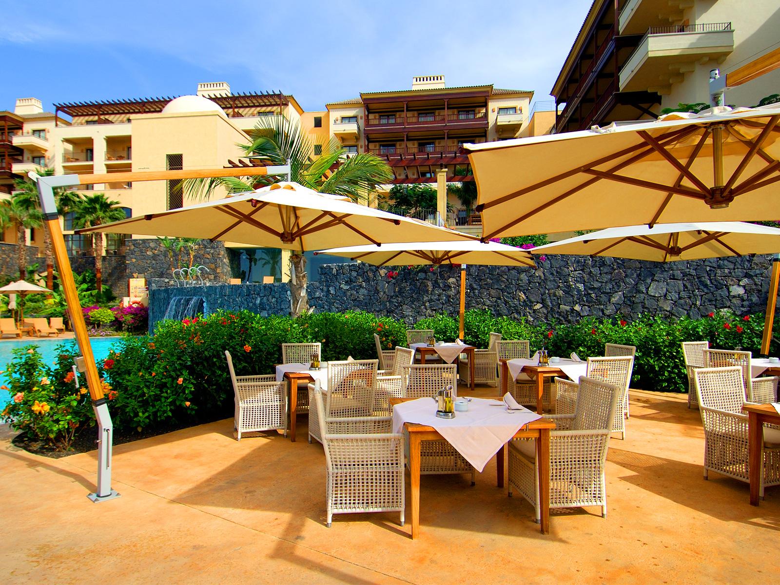 Terraza Restaurante - Vincci Selección La Plantación del Sur 5* Lujo