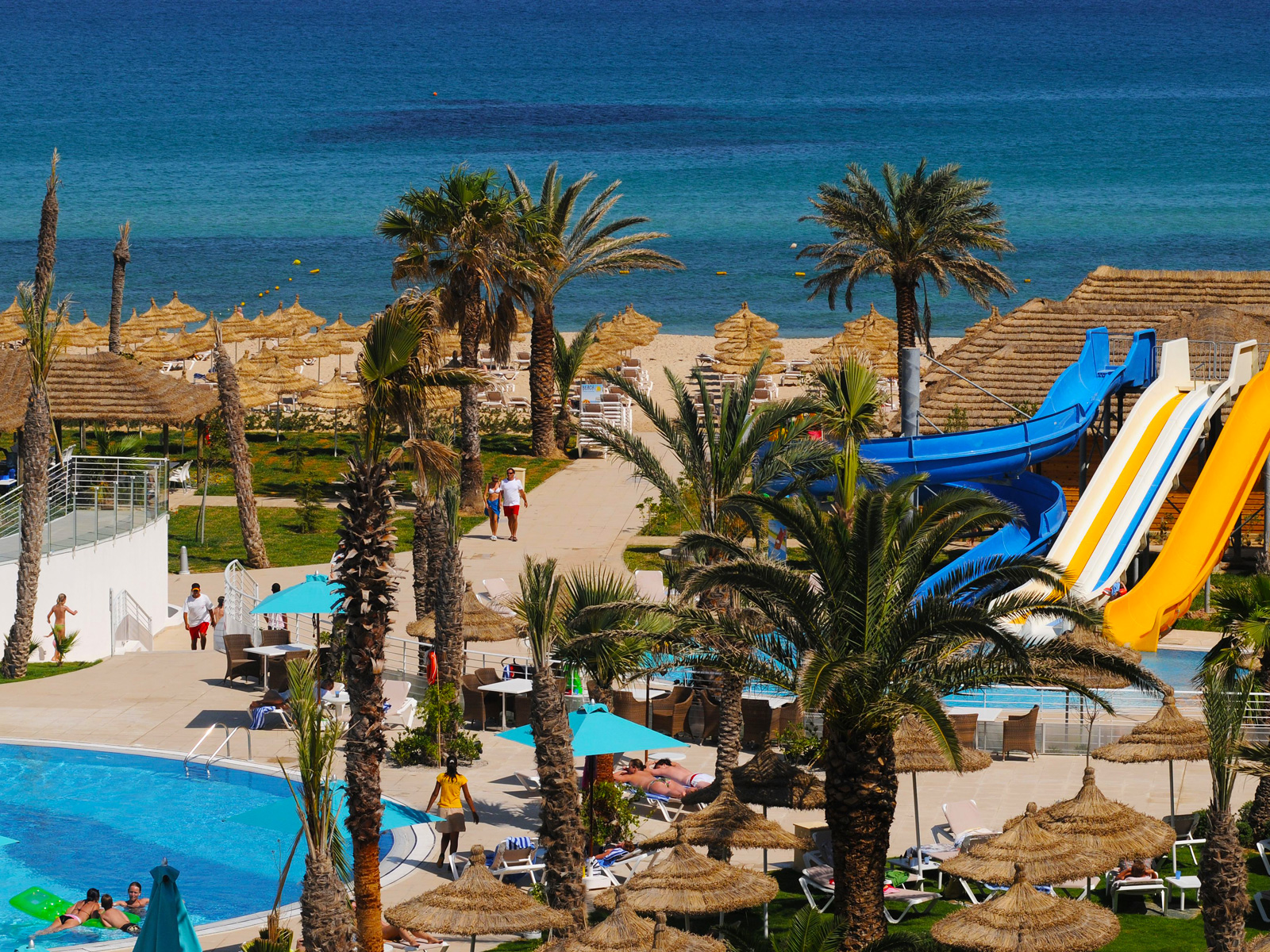 Juegos - Hamammet Nozha Beach Hotel