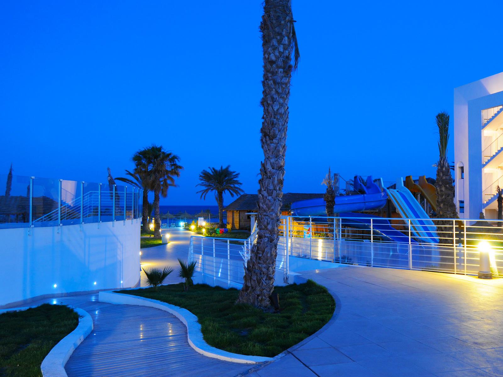 Zona Exterior - Hamammet Nozha Beach Hotel