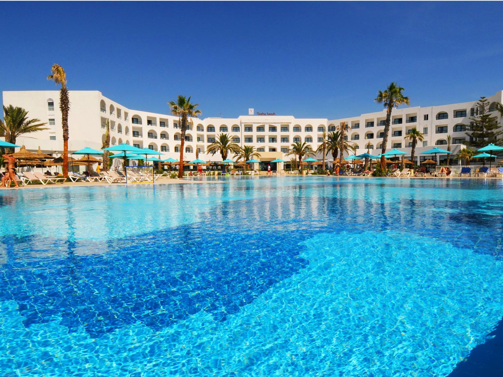 Piscine Extérieure - Hamammet Nozha Beach Hotel