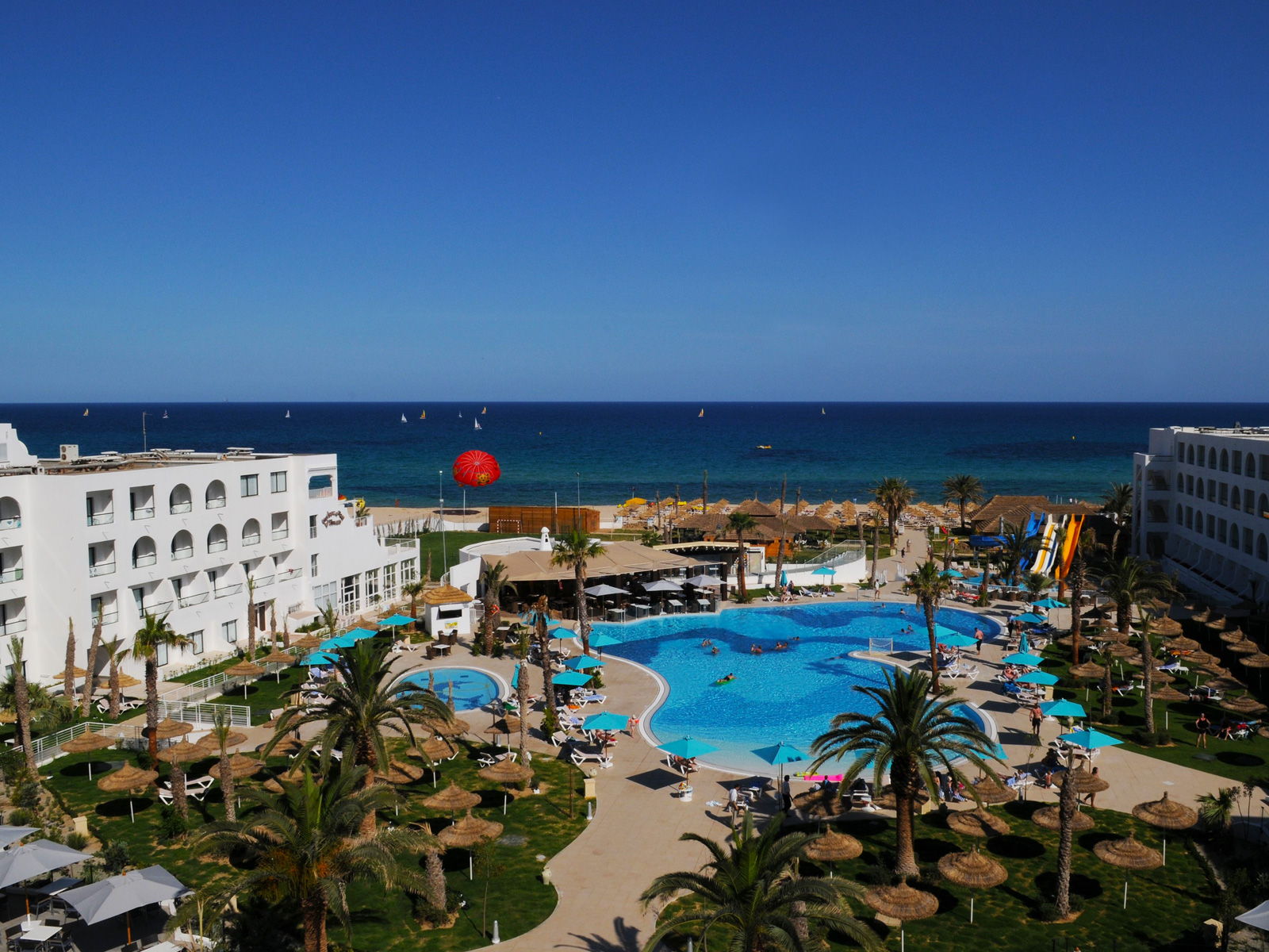 Hôtel Panoramic - Hamammet Nozha Beach Hotel