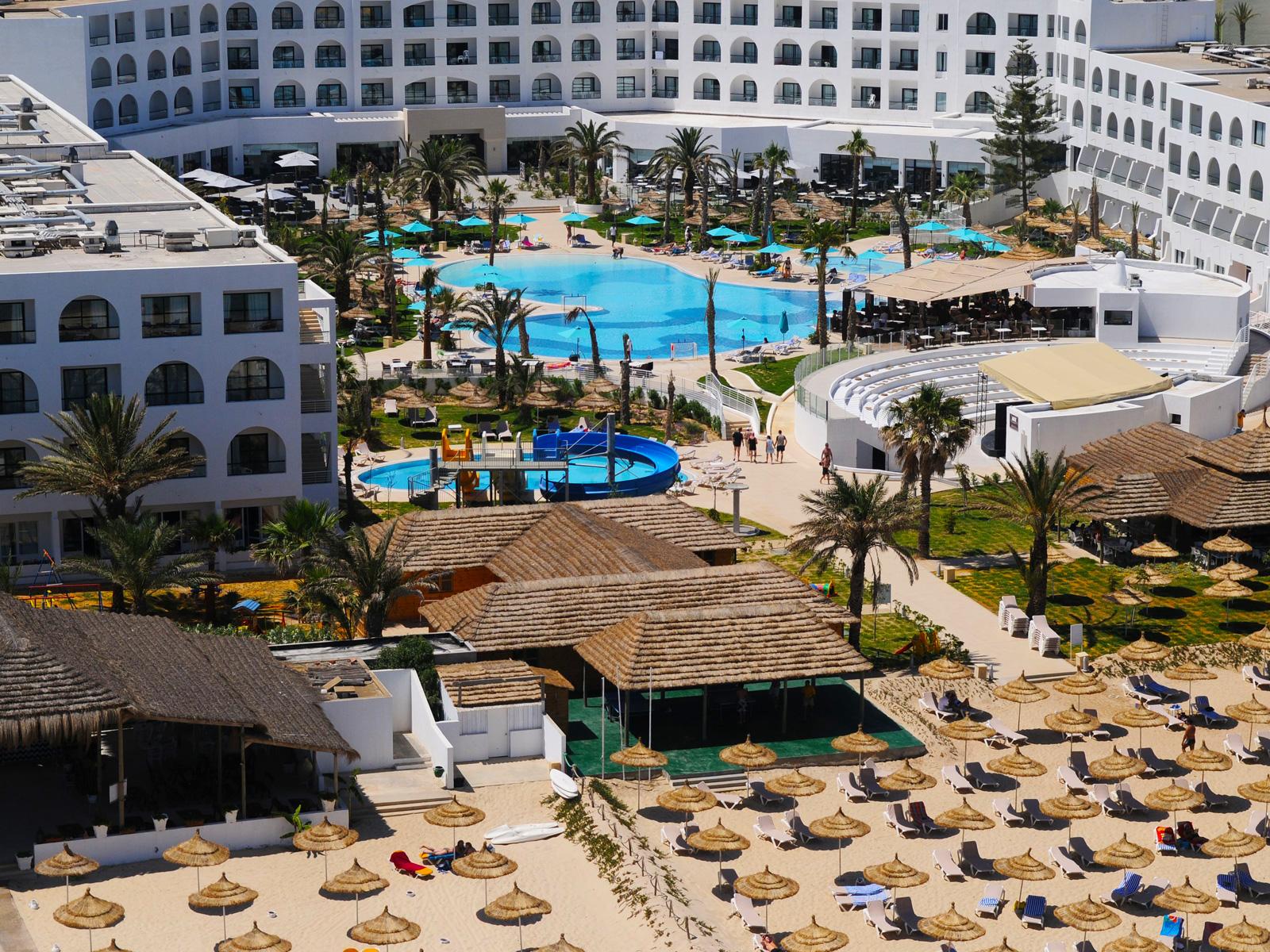 Vue Aérienne - Hamammet Nozha Beach Hotel